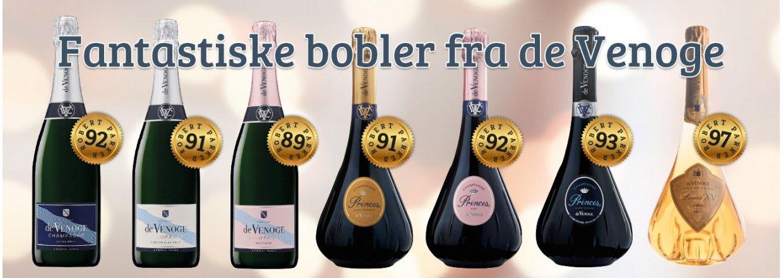 Champagne fra de Venoge