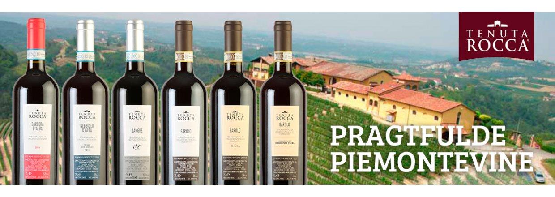 Tenuta Rocca - Pragtfulde Piemontevine