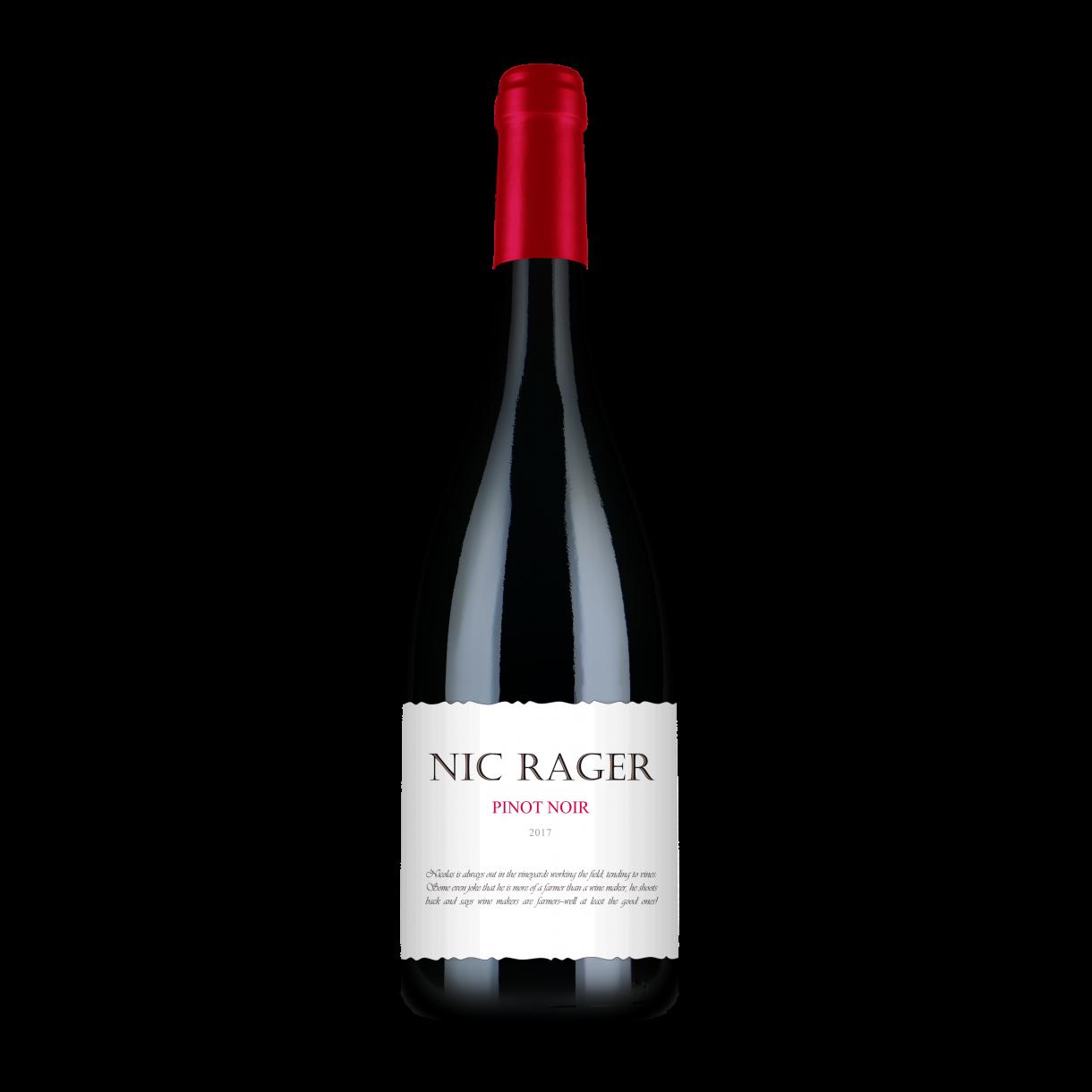 Nic Rager, 2017 - Pinot Noir