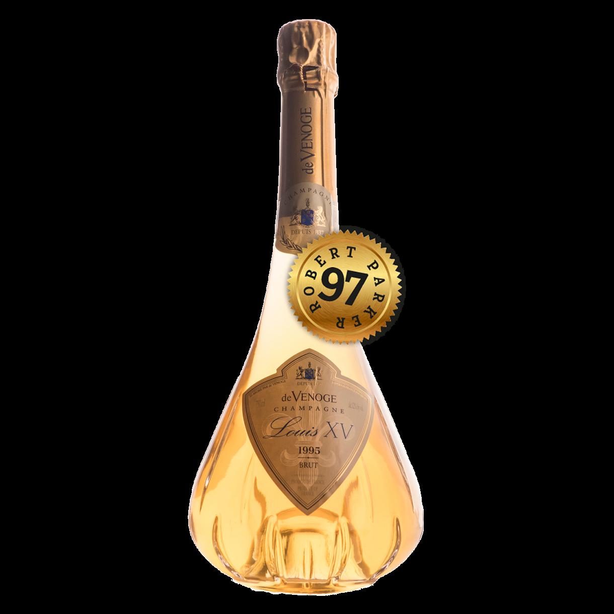 Champagne de Venoge, 1995 Cuvée Louis XV - Brut - Champagne - LAGO ...