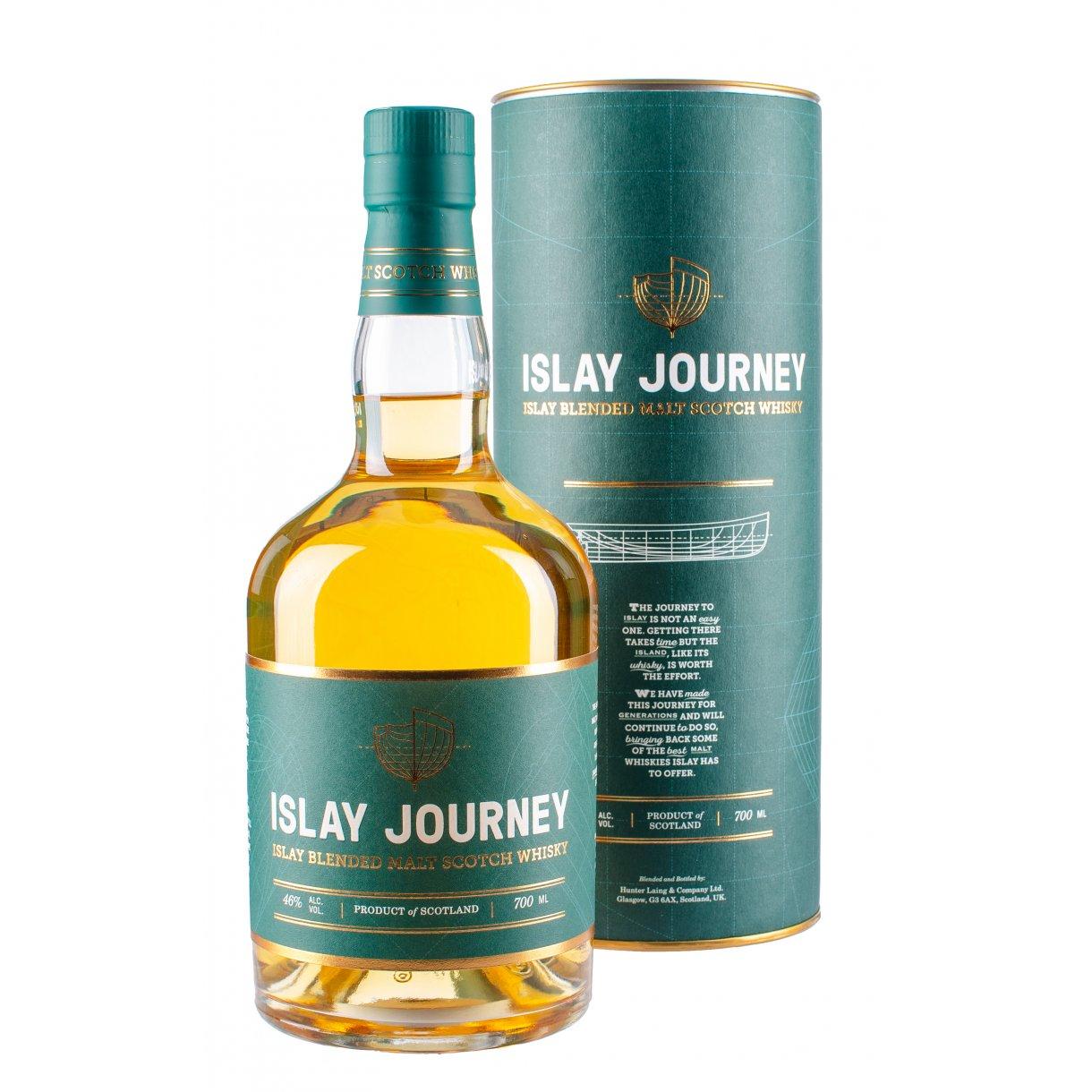 Hunter Laings Islay Journey Islay Blended Malt - 46% Small Batch - Bourbon Hogsheads