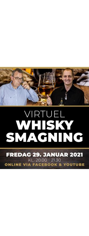 Virtuel Whiskysmagning 29. Januar 2021