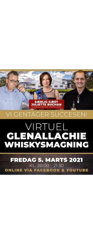 Virtuel GlenAllachie Whiskysmagning 5. marts 2021